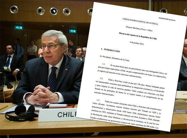 Alberto Van Klaveren y documento