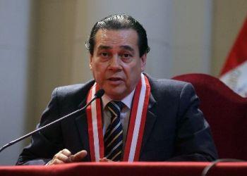 Presidente del PJ asegura que jueces sancionarán severamente robo agravado