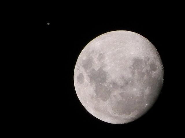 Flickr.com recopila las mejores imágenes de la Luna y Júpiter
