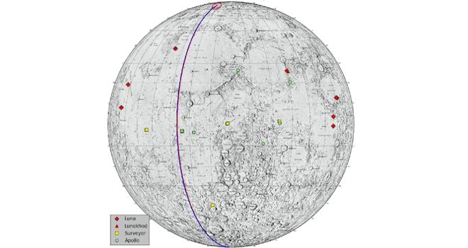 Mapa lunar (NASA)