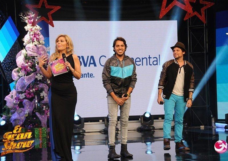 Servando y Florentino en el Gran Show (Foto: GV Producciones)