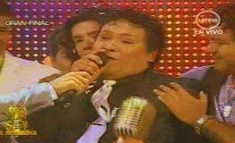 Ronald Hidalgo, imitador de Juan Gabriel