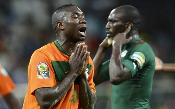 Zambia, último campeón de fútbol africano, quedó eliminado del torneo que se desarrolla en Sudáfrica