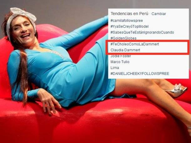 Comentario de Claudia Dammert generó indignación de tuiteros