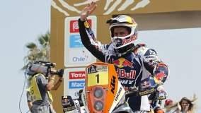 Cyril Despres ganó su segundo Dakar en forma consecutiva y el quinto en la categoría motos.