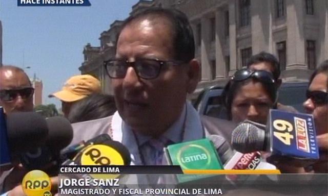 Fiscal Jorge Sanz