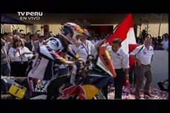 Ollanta Humala en el Dakar 2013