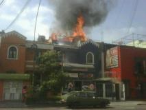 Incendio en Lince