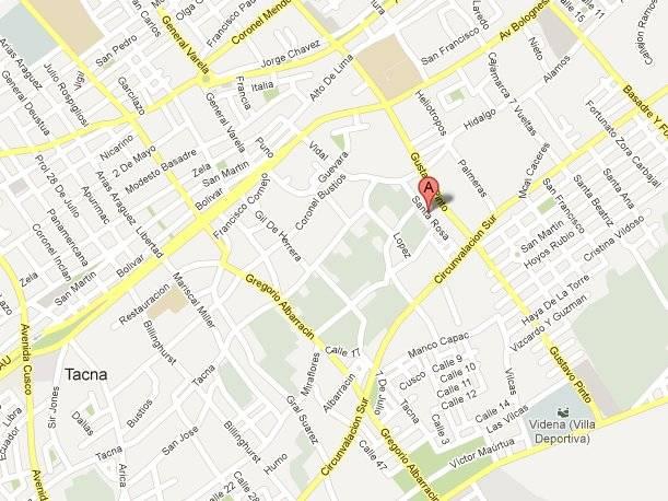 Lugar del accidente. (Foto: Google Maps)