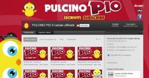 Cuenta en Youtube del Pollito Pío o Pulcino Pío
