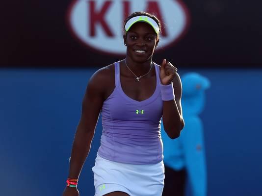 Sorpresivamente Sloane Stephens se instaló por primera vez en la semifinal del Abierto de Australia tras derrotar a Serena Williams
