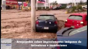 El temporal en Arequipa dejó víctimas y serios daños (Youtube)