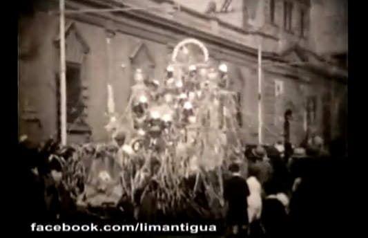 Carnavales en Lima en 1930 (Cortesía de Lima Antigua)