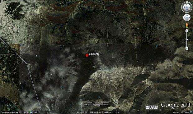 Temblor detectado en el condado norcoreano de Kilju, al nordeste del país (Google Maps)