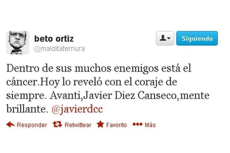 Beto Ortiz se solidariza con JDC