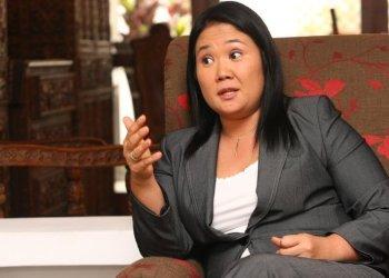 """Keiko Fujimori: """"Humala despide el 2013 de espaldas a la seguridad ciudadana"""""""