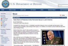 EE.UU. aduce que el terrorismo penetra a Latinoamérica y el Perú (defense.gov)