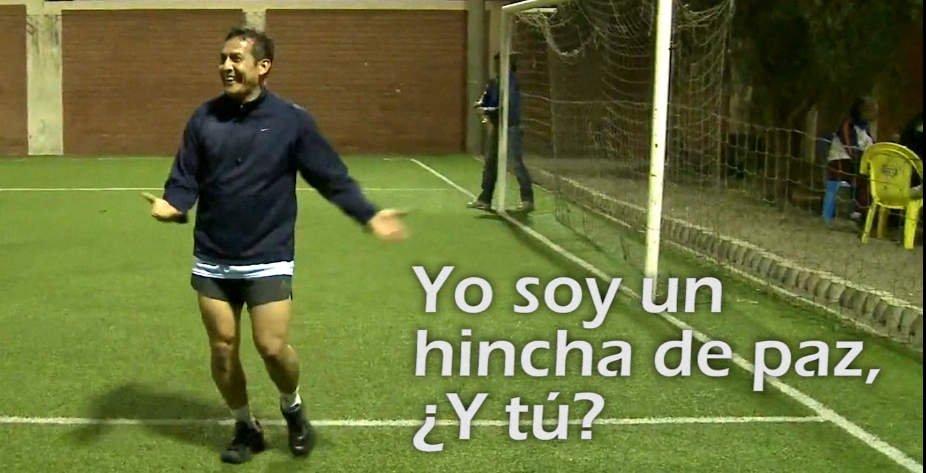 Ollanta Humala en spot de Tv
