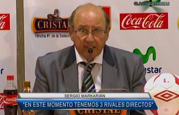 Sergio Markarián (Foto: Captura Cable Mágico Deportes)