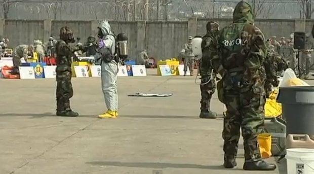 EE.UU. alista batallón químico ante posible ataque nuclear de Corea del Norte