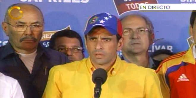 Henrique Capriles (Globovisión)