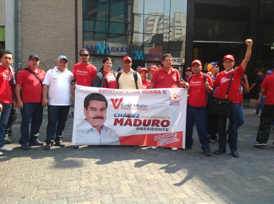 Hugo Loarte, fiel seguidor del chavismo (Facebook)