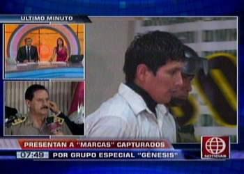 """Grupo """"Génesis"""" desbarata banda de marcas en San Miguel"""
