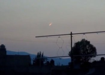 Supuesto meteorito captado en el cielo mexicano