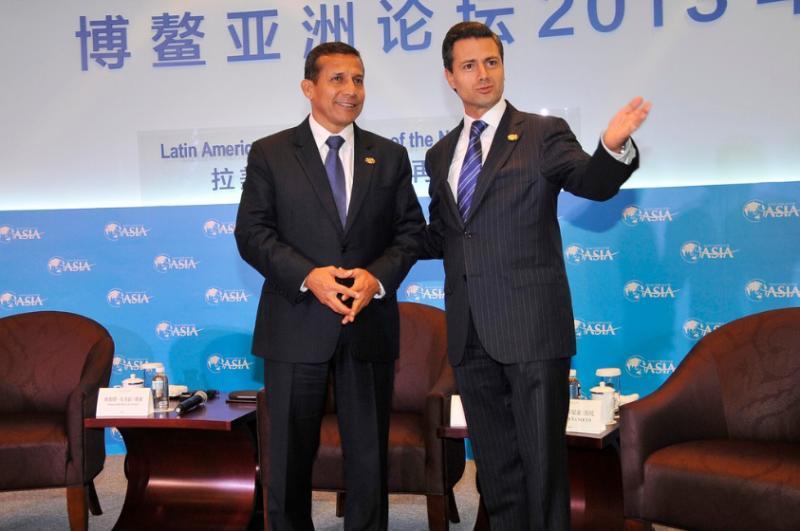 Ollanta Humala y Enrique Peña Nieto (Diario Correo)