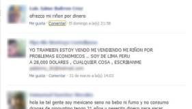 Usan Facebook para tráfico de órganos y se incrementan avisos online de Perú