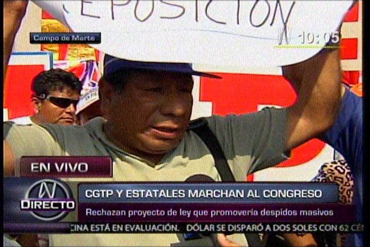 Fotógrafo que laboró 17 años en la Municipalidad de Lima pide reposición