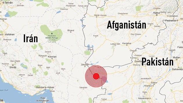 erremoto de 7.8 grados sacude Irán y mata a 40 personas