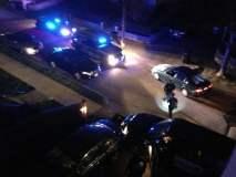 Instantes en que la policía se enfrenta a tiros con los hermanos Tsarnaev (getonhand.com)