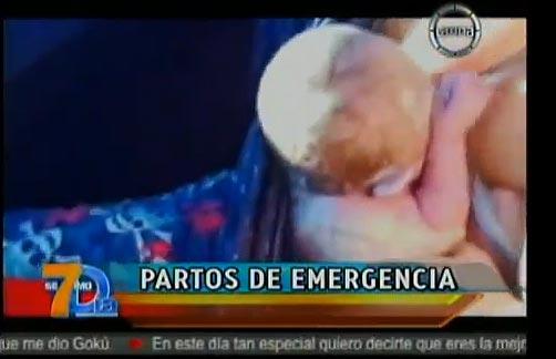Partos de emergencia, en el Día de la Madre (Video)