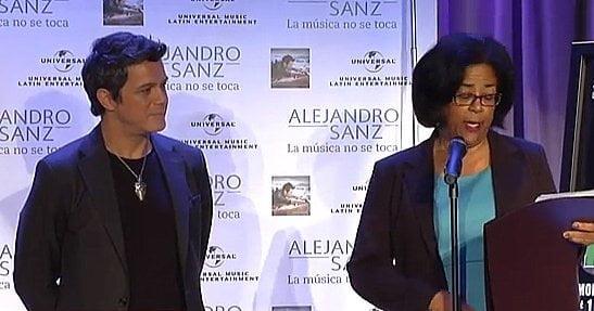 Proclaman el 30 de abril como el día de Alejandro Sanz (Video @NewsMediaLatino)