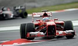 Fernando Alonso logró la F1 en su país con la Ferrari.