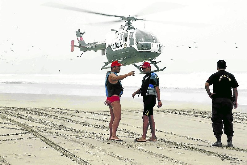 PNP rescata cuerpo de Aldo Torres, último pasajero de globo aerostático