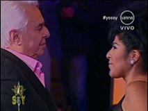"Enrique Guzmán a participante de Yo Soy: ""Hoy tengo a mi hija frente a mi"""