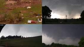Youtube: Comparten impresionantes videos de tornados en Oklahoma