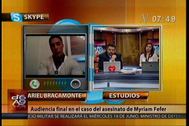 """Ariel Bracamonte: """"Pido a la Corte Suprema que tome la decisión correcta"""""""