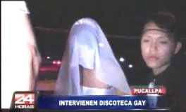 Policía frustra boda gay en Pucallpa e interviene a invitados (Video)
