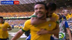 Los goles: Brasil derrota a Uruguay y se acerca a la Copa Confederaciones
