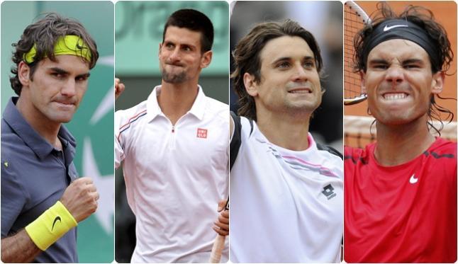 Los principales tenistas del cuadro masculino se clasificaron dentro de los 16 mejores del torneo Roland Garros 2013.