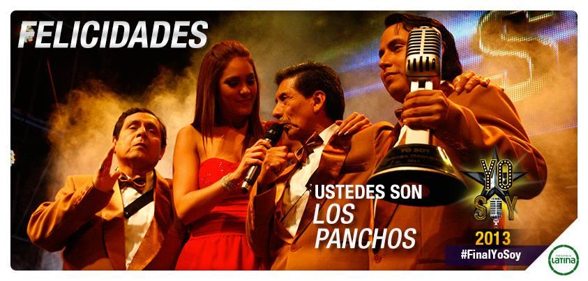 Yo Soy: Los Panchos son los ganadores de la temporada 2013