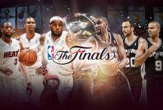 Hoy se define el título de la NBA entre Miami Heat y San Antonio Spurs.