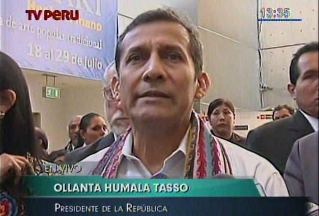 TC y Defensoría: Ollanta Humala rechaza elección de Souza y Freitas