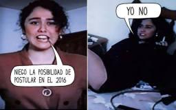 """(Facebook) Meme: La otra Nadine dice """"sí"""" a candidatura presidencial el 2016"""