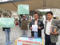 Chiclayo: Nacionalistas recolectan firmas para cerrar el Congreso