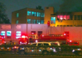Bomberos controlaron incendio en Hospital Dos de Mayo