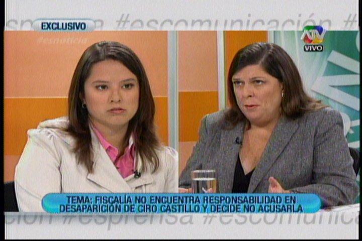 """Rosario Ponce sobre Ciro Castillo padre: """"Hay fines económicos en candidatura"""""""